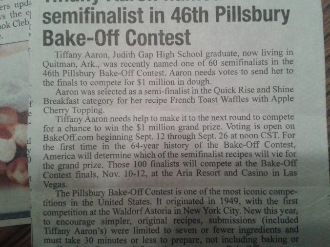 News Argus Bake Off