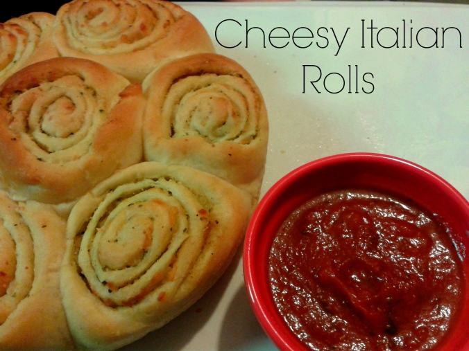 Cheesy Italian Rolls